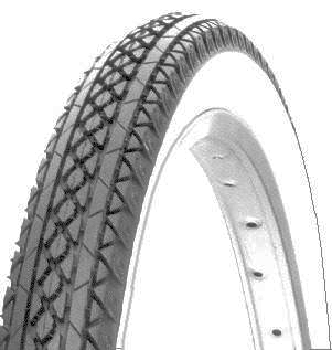 BICYCLE TIRE 20 X 2125 HD WHITE WALL