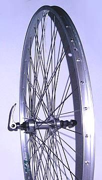 "27/"" x 1 1//4 REAR Q//R Bike Wheel Premium White Wall Tyre /& 6 Speed Freewheel"